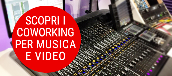 coworking music and video